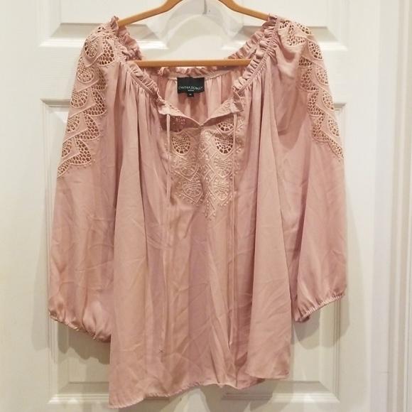 Cynthia Rowley Tops - Cunthia Rowley Pheasant Shirt - 1X